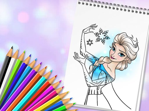 Amazing Princess Coloring Book