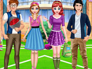 Anna And Ariel School Date