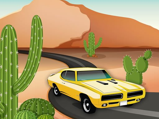 Desert Car Race
