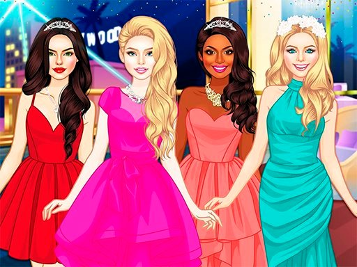 Glam Girls Dress Up