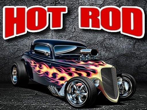 Hot Rod Jigsaw Puzzle
