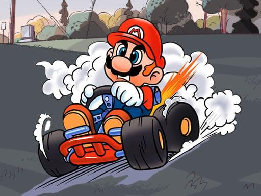 Mario Kart Jigsaw