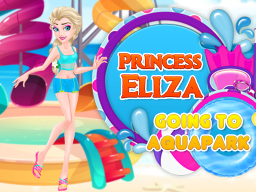 Princess Eliza Going To Aquapark