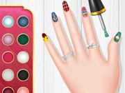 Princess Spring Nail Design