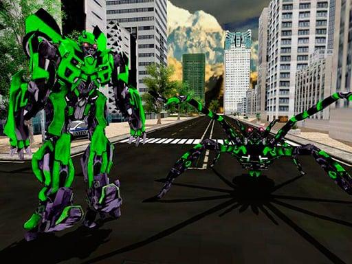 Spider Robot Warrior Web Robot Spider