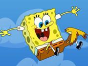 Sponge Bob Falling