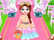 Baby Taylor Wedding Flower Girl