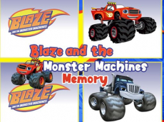 Blaze Monster Trucks Memory