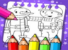 Bob The Builder Coloring Book