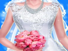 Bride & Groom Dressup - Dream Wedding game online