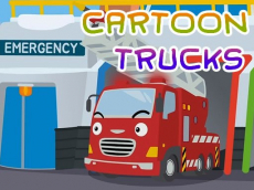 Cartoon Trucks Jigsaw
