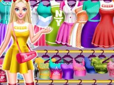 Cheerleader Magazine Dress & Makeover for Girls