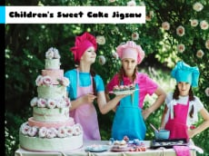 Children's Sweet Cake Jigsaw