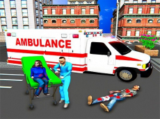 City Ambulance Rescue Simulator Games