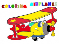 Coloring Book- Airplane V 2.0