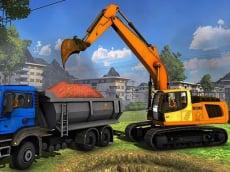 Construction Trucks Hidden Diggers
