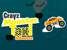 Crayz Monster Taxi Halloween