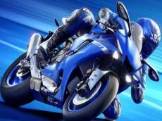 Desert Racer Motorbike