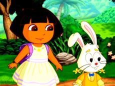 Dora Happy Easter Differences