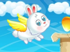 Easter Flying Bunny