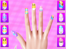 Easter Nails Design