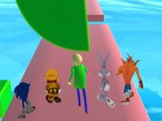 Fun Race 3D - baldi's basics