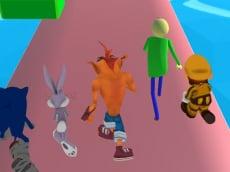 Fun Race 3D - Crash Bandicoot