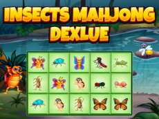 Insects Mahjong Deluxe