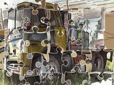 Junk Trucks Jigsaw