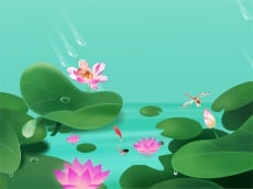 Lotus Flowers Slide
