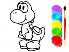 Mario Coloring Book