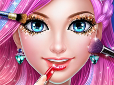Mermaid Dress up & Makeover - Color by Number