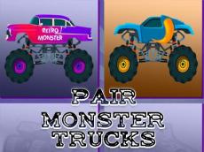 Monster Trucks Pair