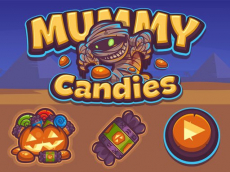 Mummy Candies   Fullscreen HD Game