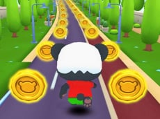 Panda Run Game