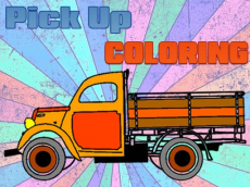 Pick Up Trucks Coloring
