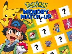 Pokemon Memory Match Up