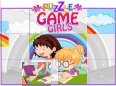 Puzzle Game Girls - Cartoon