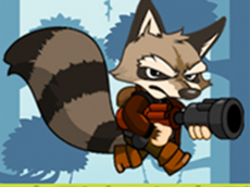 raccoon adventure game