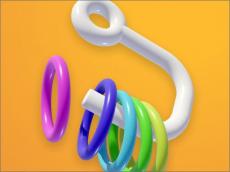 Ring Fall 3D