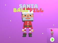 Santa Ball Fill 3D