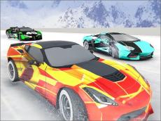 Snow Fall Hill Track Racing