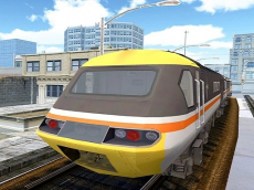 Super Drive Fast Metro Train Game