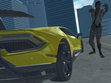 Supercars Zombie Driving 2