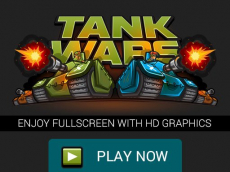 Tank Wars the Battle of Tanks  Fullscreen HD Game