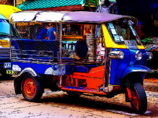 Tuk Tuk Tricycle Puzzle