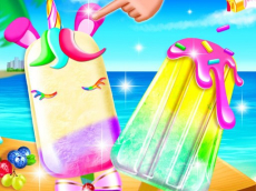 Unicorn Ice Pop